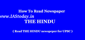 How to read Hindu for Exam