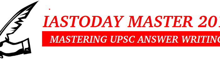 IAS MASTER 2017- UPSC MAINS ANSWER WRITING MARCH-13