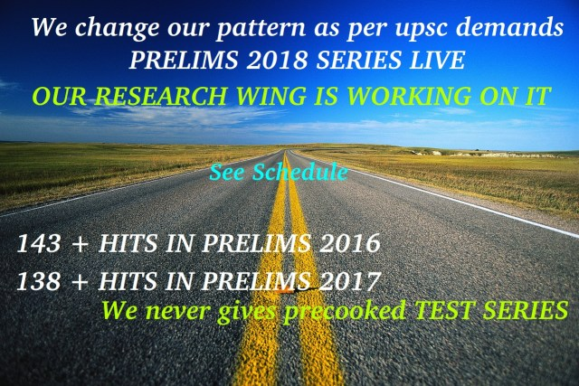 Prelims 2018 best series