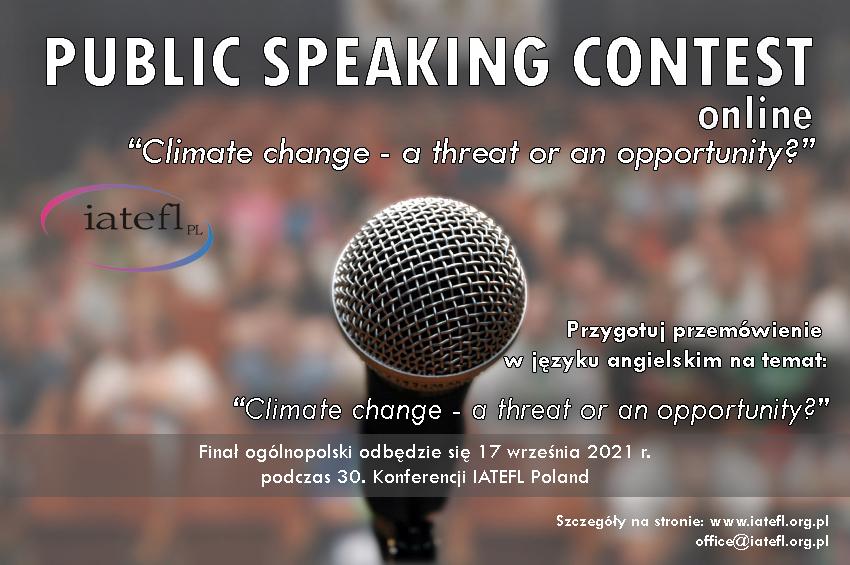 Public Speaking Contest 2021 – eliminacje Łódź 08.06