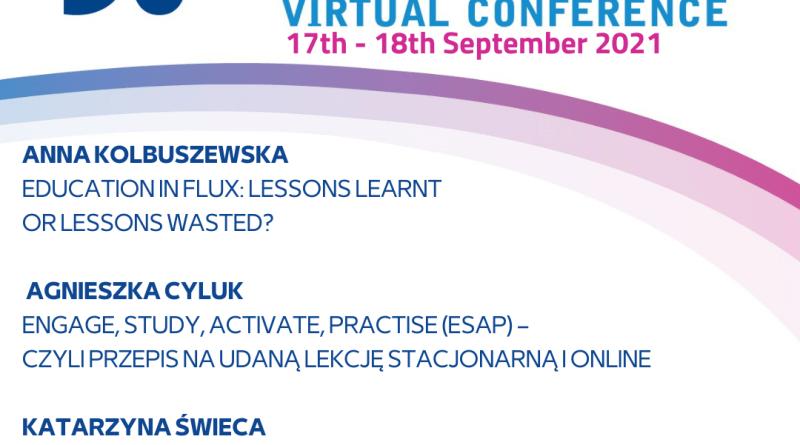 30th INTERNATIONAL IATEFL POLAND Virtual Conference – Pearson