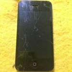今日のiPhoneの修理はiPhone5のガラス割れ。だけと思ったらとんでもない結末が!