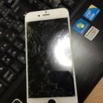 iPhone6のお客さま来店! 修理は液晶が壊れる前に!