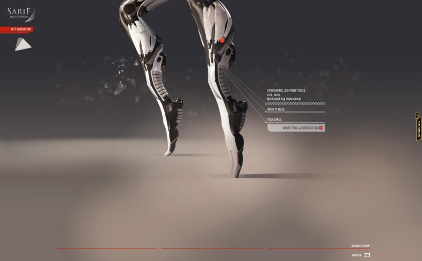 Deus Ex s'associe à Open Bionics, Razer et Intel