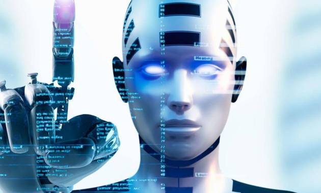 ia intelligence artificielle robot