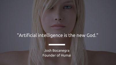 Humai ia clone humanoid intelligence artificielle robot