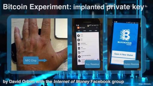 Bitcoin-Experiement-NFC puce