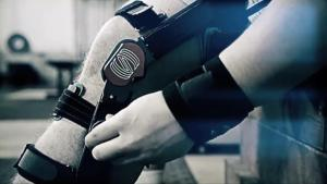 The Upshot knee brace (Screengrab via Spring Loaded Technologies video)