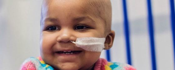 Layla Richards. Credit: Sharon Lees/Great Ormond Street Hospital