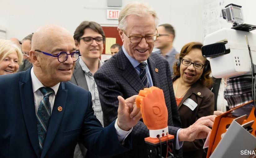 Des sénateurs en apprennent davantage sur la robotique et l'intelligence artificielle dans le système de santé