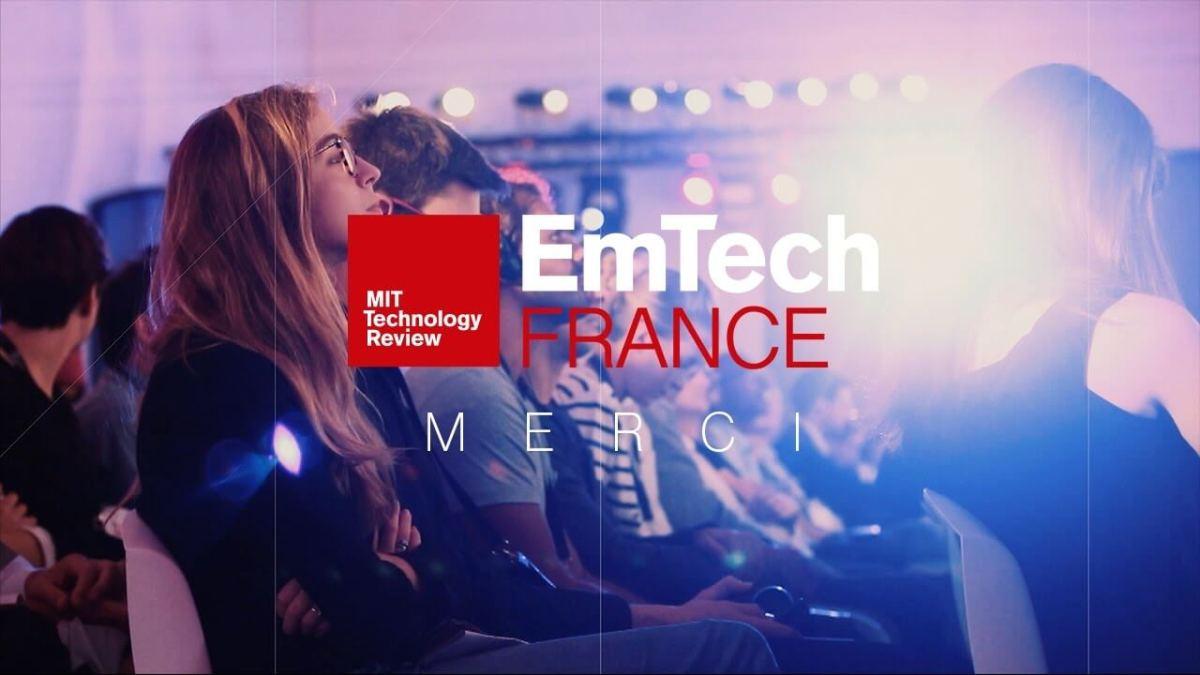 Les experts du MIT sont de retour en France pour la 3ème éd. de la conférence EmTech