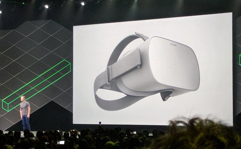 Facebook a dévoilé un casque VR autonome