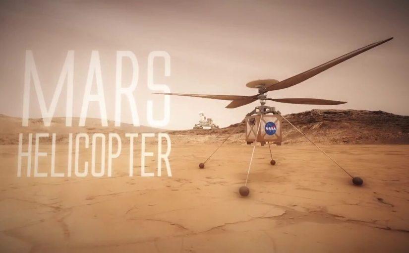 La NASA envoie un drone hélicoptère vers Mars