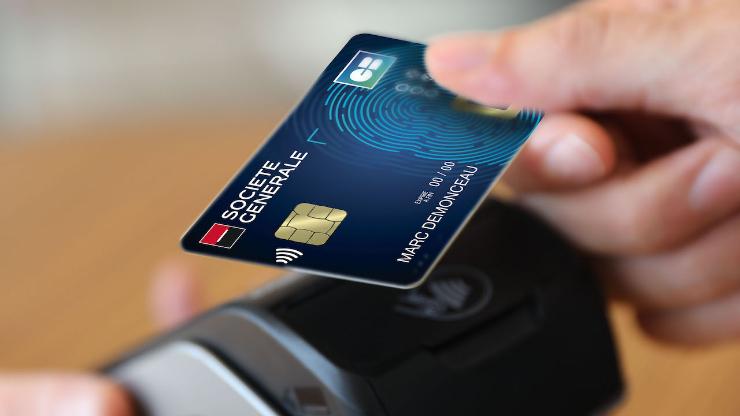 Société Générale expérimente la carte bancaire biométrique