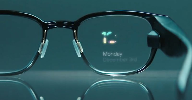 Des lunettes intelligentes avec un écran de réalité mixte