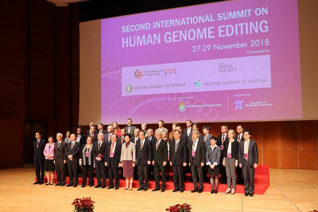 Résumé du deuxième Sommet international sur l'édition du génome humain