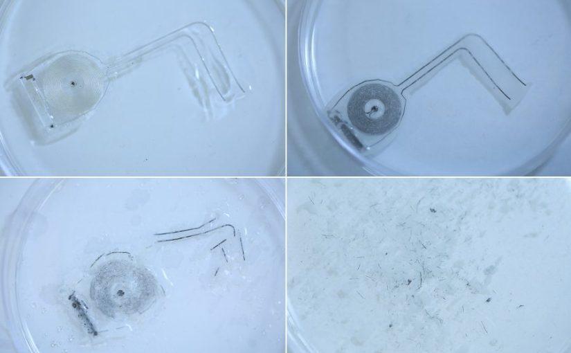 Premier exemple de médecine électronique biorésorbable