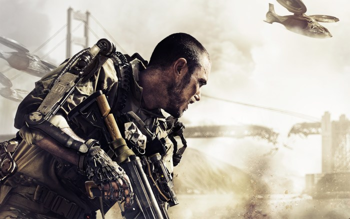 Call of Duty- exosquelette Militaire soldat