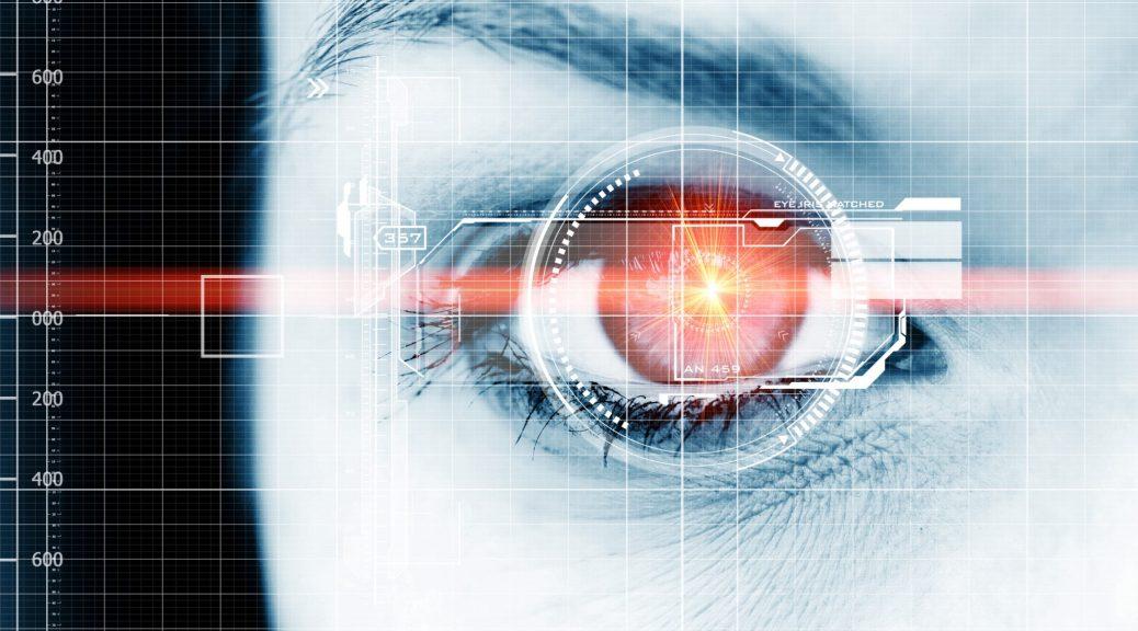 facial-recognition reconnaissance faciale biométrie oeil iris