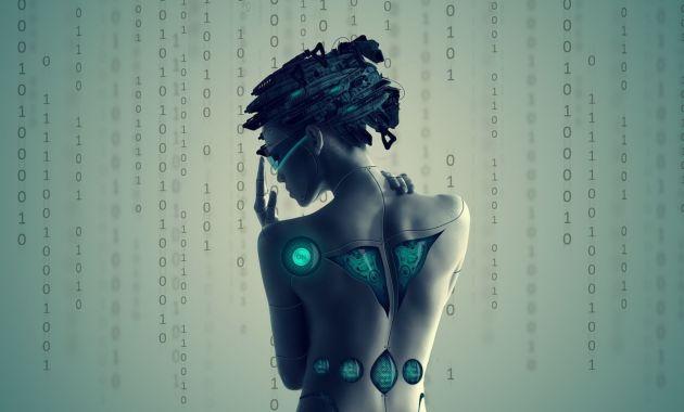 cyborg girl cyber femme bionique cyber h+ transhumanisme