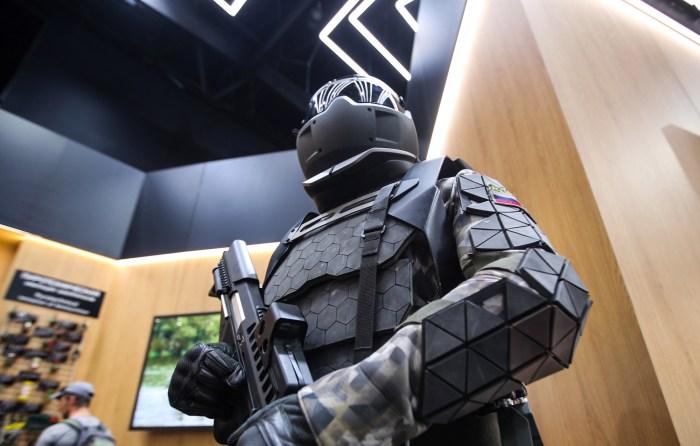 exosquelette iron man armée militaire russie