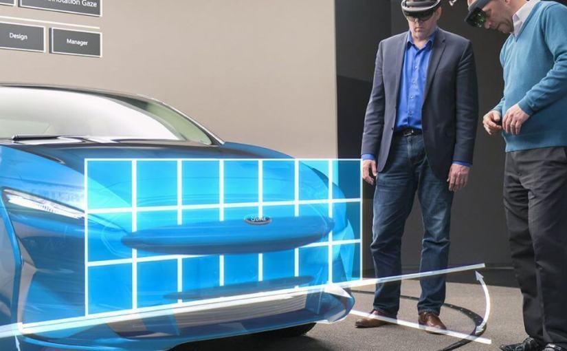 Des fabricants utilisent la réalité augmentée pour concevoir des voitures