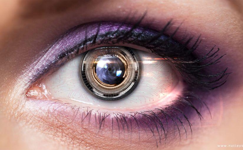 Dispositif de capture des mouvements oculaires pour un simulateur de vision