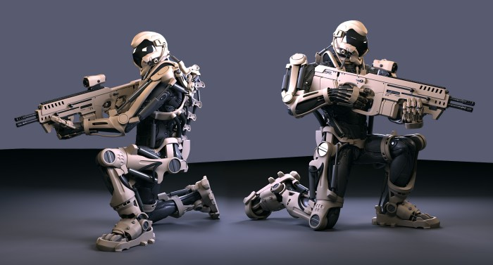 super_soldat_exosquelette Militaire soldat