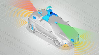 Véhicule autonome voiture autonome