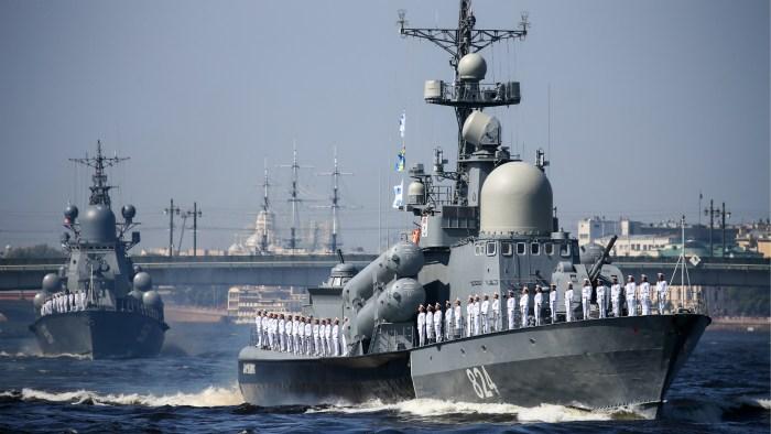 frégate de la marine russe