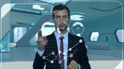 h+ interface virtuelle holographique Réalité Augmentée