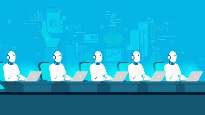 intelligence artificielle robot banque