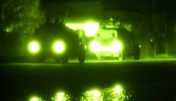 Vision nocturne des soldats en Irak