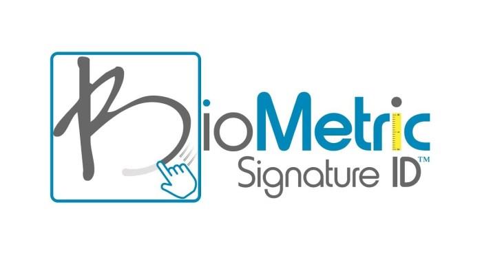 Biometric Signature ID logo