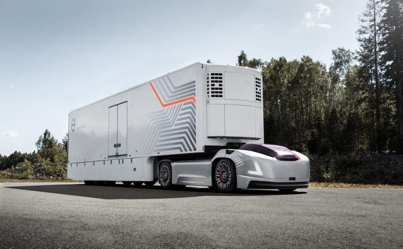 Volvo publiera des données financières des camions autonomes à partir de 2020