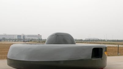 hélicoptère d'attaque chinois ovni