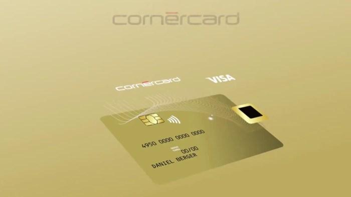Cornèrcard Biometric Gold