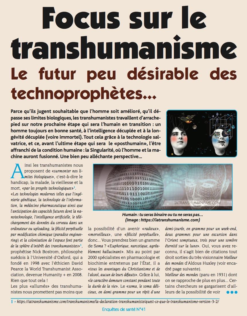 iatranshumanisme press