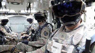 réalité augmentée Microsoft armée américaine -Integrated Visual Augmentation System (IVAS)