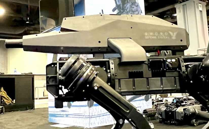 Les robots chiens sont désormais équipés de fusils d'assaut