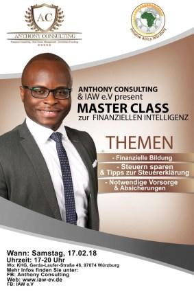 Master class zur finanziellen Intelligenz