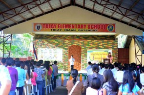 tulay elementary school graduation 2015 ibaan batangas mayor danny toreja