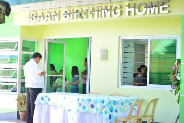 blessing of ibaan birthing home ibaan batangas mayor danny toreja agnes chua 16