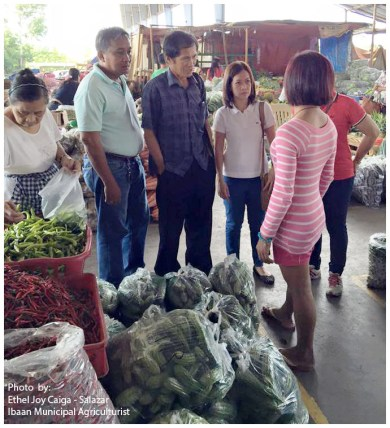 ibaan municipal agriculture ethel joy caiga salazar myla soriano mayor danny toreja ibaan batangas food center 12