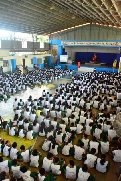 ibaan batangas saint james academy the big one earthquake drill mayor danny toreja iba ang ibaan 1