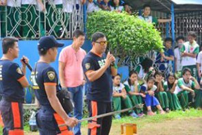 ibaan batangas saint james academy the big one earthquake drill mayor danny toreja iba ang ibaan 29