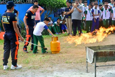 ibaan batangas saint james academy the big one earthquake drill mayor danny toreja iba ang ibaan 30