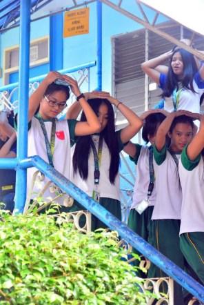ibaan batangas saint james academy the big one earthquake drill mayor danny toreja iba ang ibaan 6