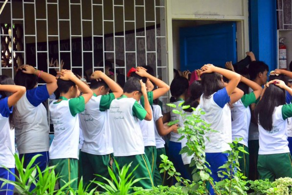 ibaan batangas saint james academy the big one earthquake drill mayor danny toreja iba ang ibaan 8