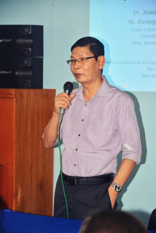 university of batangas college of business and accountancy workplace ethics mayor danny toreja jess briones ibaan batangas 4